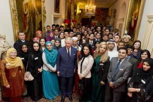 HRH The Prince of Wales with delegates from the 2013 ILP