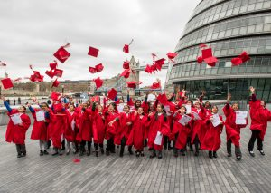House of Lords hosts London primary school graduation