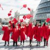 Final Primary School graduation ceremonies of the year take place in London