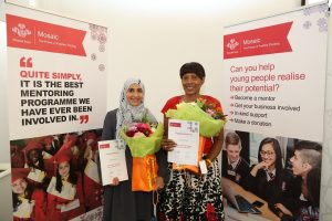Joint Mentor of the Year winners for the North West announced at end of year celebration