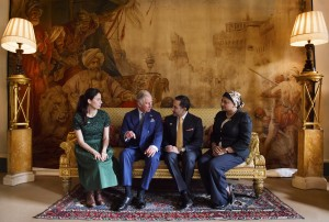 HRH Prince Charles with Mosaic Mentors
