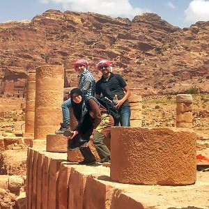 How my leadership lessons from Mosaic were tested on the grounds of Petra