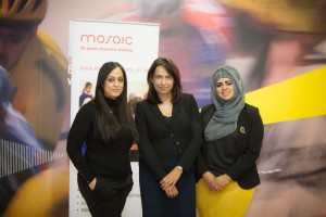 Farida Gibbs, Ruby McGregor-Smith CBE and Shazia Saleem