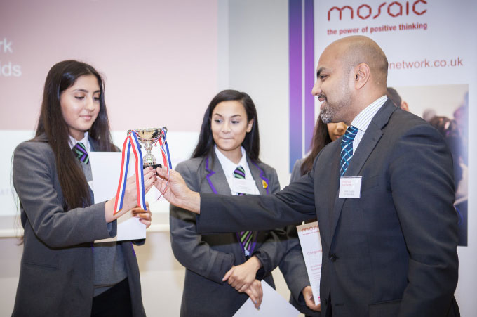 Sultan Choudhury at the Mosaic Enterprise Challenge 2015