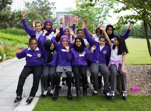 Primary School graduates from mentoring programme in the West Midlands share their exciting plans for the future at a special ceremony