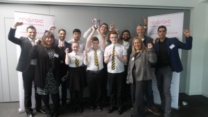 Hollybrook Academy crowned inaugural Scotland champions in Regional Final of the 2016 Enterprise Challenge