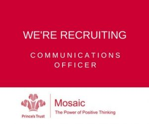 Job Opportunity with Mosaic and The Prince's Trust