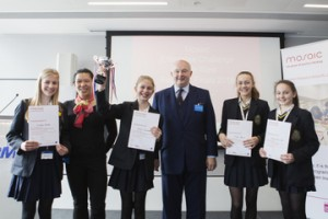 Altrincham Grammar School for Girls crowned champions in North West Final of the 2016 Enterprise Challenge