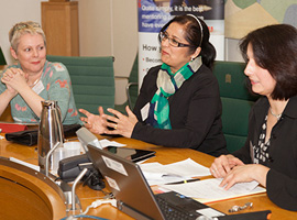 Mosaic Women accelerate the 'gender agenda, gaining momentum in business' at Westminister