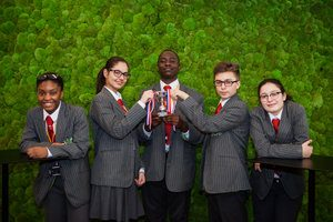 Skinners' Academy wins London regional final of the Enterprise Challenge